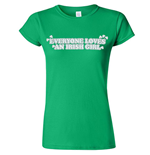 Camiseta Everyone Loves An Irish Girl