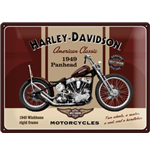Panel de metal Harley Davidson
