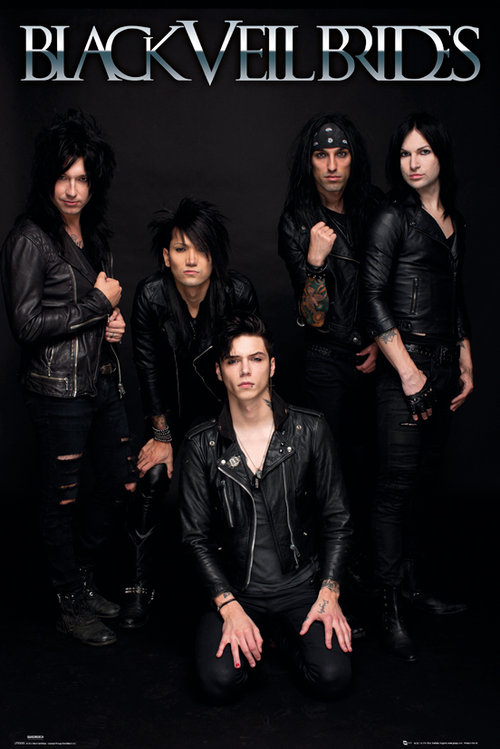 Póster Black Veil Brides Band