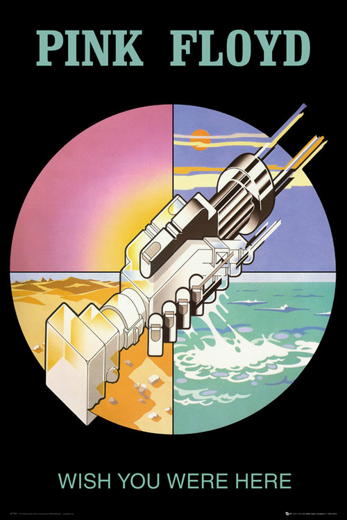 Maxi Póster Pink Floyd Wish You Were Here 2