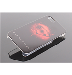 Man Of Steel Funda para iPhone 5 Logo negro