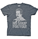 Camiseta Seinfeld Soup Nazi No Soup For You