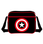 Captain America Bandolera Shield Logo negra