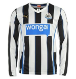 Camiseta manga larga Newcastle United 2013-14 Home