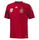 Camiseta España 2014-15 Home World Cup de niño