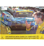 Póster BTCC Memorabilia Williams Renault 1995