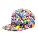 Hora de Aventuras Gorra Béisbol Snap Back All Over Print