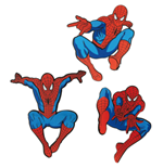 Spider-Man packs de 3 Pegatinas de Pared Caja (6)