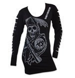 Camiseta manga larga Sons of Anarchy de mujer