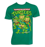 Camiseta Tortugas Ninja Retro Vintage Group