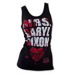 Camiseta de Tirantes The Walking Dead Mrs. Daryl Dixon Blood Splatter
