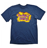 Camiseta Bubble Bobble  Vintage Logo Medium