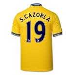 Camiseta Arsenal 2013-14 Away(S.Cazorla 19)