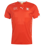 Camiseta Suiza 2014-15 Home World Cup