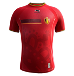 Camiseta Bélgica 2014-15 Home World Cup de niño