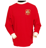Camiseta manga larga Manchester United FC 1963 Retro