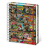 Marvel Comics Libreta A4 Aligned Retro