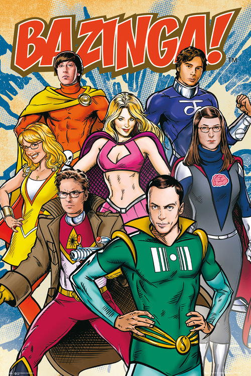 Póster The Big Bang Theory 112110