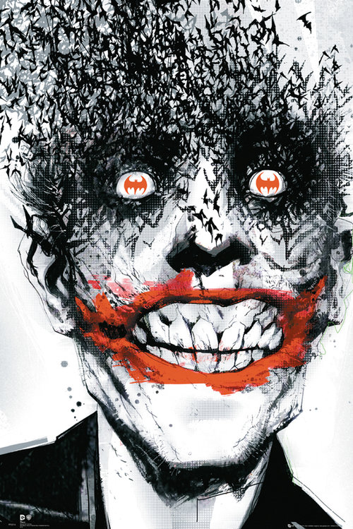 Póster Batman Comics Joker Bats