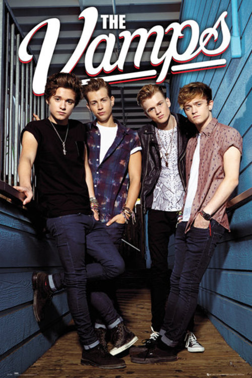 Póster The Vamps Standing