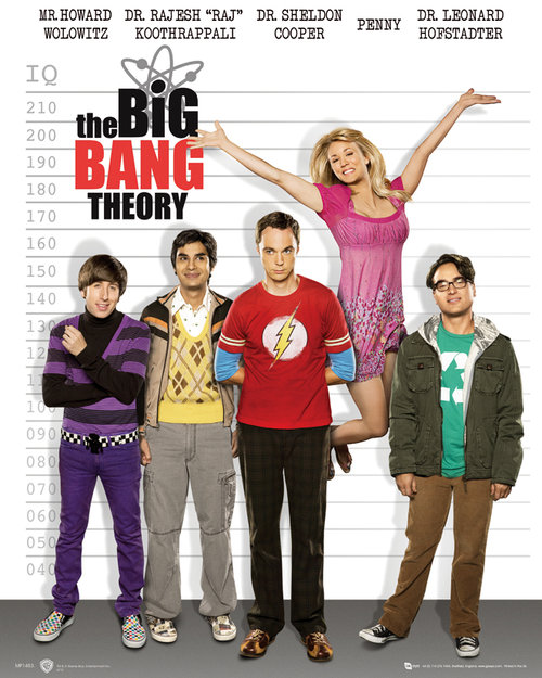 Póster The Big Bang Theory 112147