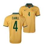 Camiseta Australia 2014-15 World Cup Home (Cahill 4)