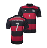 Camiseta Alemania 2014-15 World Cup Away (Schweinsteiger 7)