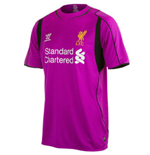 Camiseta portero Liverpool 2014-15 Home Warrior de niño