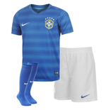 Kit Brasil 2014-15 Away World Cup de niño (3-8 años)