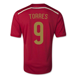 Camiseta España 2014-15 Home World Cup (Torres 9) de niño