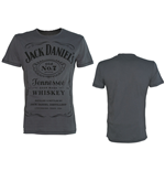 Camiseta JACK DANIEL'S Classic Black Logo Medium