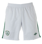 Shorts Irlanda 2010-11 Umbro Home de niño