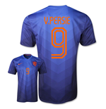 Camiseta Holanda 2014-15 World Cup Away (v. Persie 9) de niño