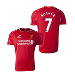 Camiseta Liverpool 2014-15 Home (Suarez 7)