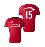 Camiseta Liverpool  2014-15 Home (Sturridge 15)