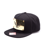 The Legend of Zelda Gorra Béisbol Snap Back Golden Metal Plate