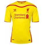 Camiseta Liverpool FC 2014-15 Away de niño