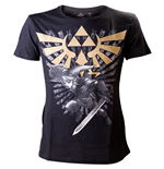 Camiseta ZELDA Gold Link Logo Small