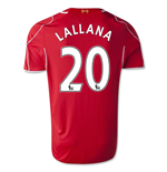 Camiseta Liverpool FC 2014-15 Home (Lallana 20)