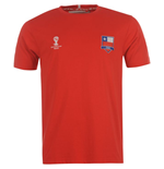 Camiseta Chile 2014 FIFA Core