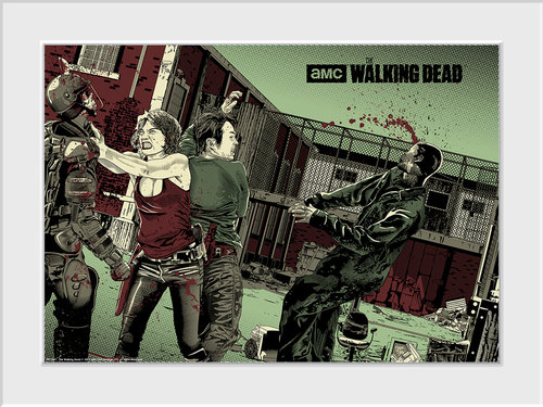 Póster Walking Dead 115627