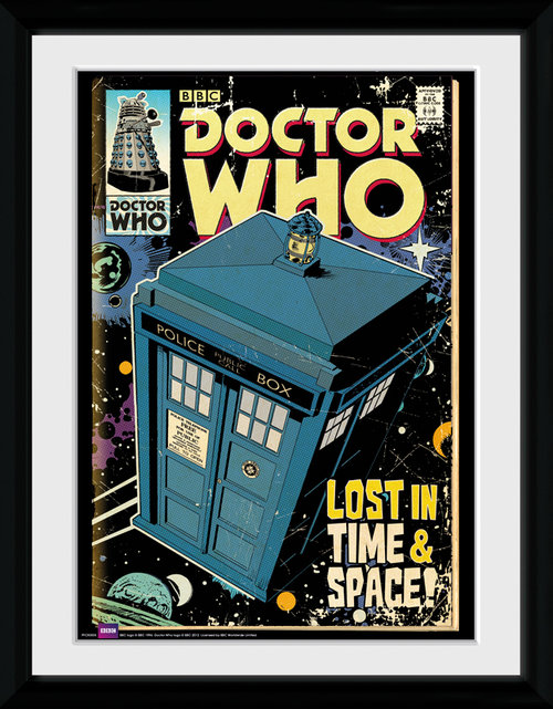 Póster Doctor Who 116037