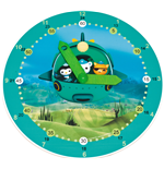 Reloj de pared The Octonauts 116486