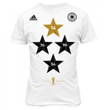 Camiseta Alemania 2014-15 Adidas World Cup Winners