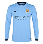 Camiseta Manchester City FC 2014-2015 Home