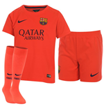 Kit Barcelona 2014-2015 Away Nike de bebé (0-3 años)