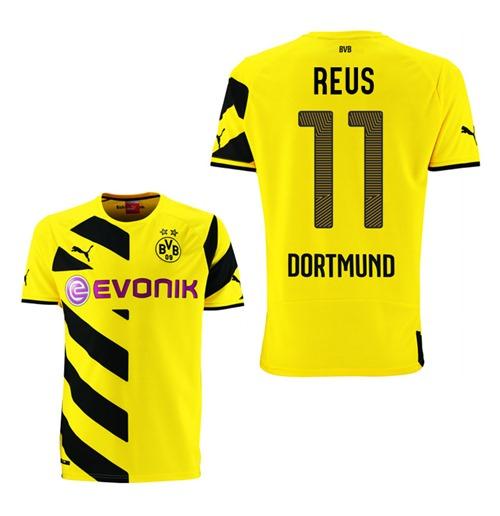 Compra Camiseta Borussia Dortmund 2014-15 Home (Reus 11) Original f9e2ac19a519c