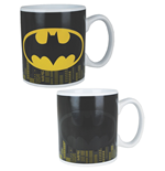Batman Taza sensitiva al calor Logo