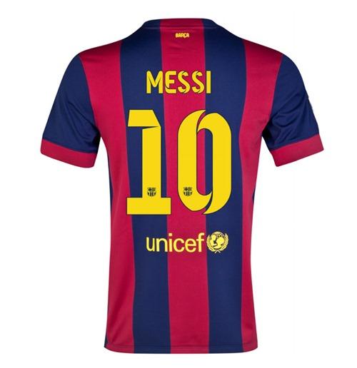 204bc290c259e Compra Camiseta FC Barcelona 2014-15 Home (Messi 10) - de niño