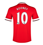 Camiseta Manchester United FC 2014-15 Home (Rooney 10) - de niño